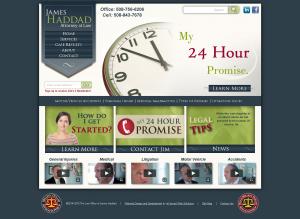 Law Firm Website Design in Gardner, Massachusetts