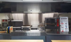 image of the demo kitchen at Dave Swain Associates