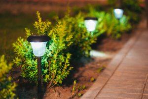 Garden Lights for Leominster, Massachusetts
